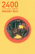 2400: Emergency Rules