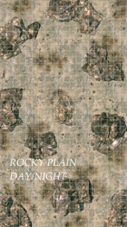 Rocky Plain, Day & Night