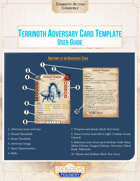 Terrinoth Adversary Card Template