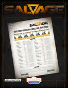 Salvage Fillable Character Sheet