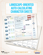 Genesys Landscape Auto Calculating Character Sheets