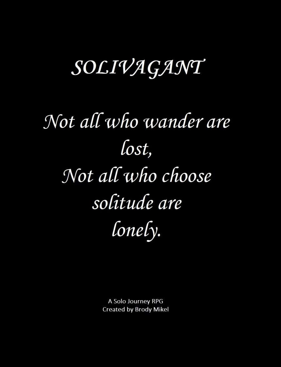 Solivagant