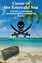 Curse of the Emerald Sea - A sandbox swashbuckling setting for Knave