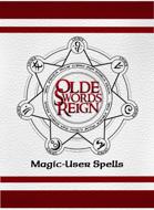 Olde Swords Reign Spell Cards