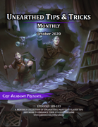 Unearthed Tips and Tricks Monthly: Issue 1 October