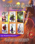 Adventurer's Bundle: Player Options