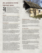 An audience with the rat king - A One-shot Adventure for 5e