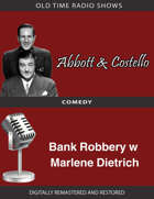 Abbott and Costello: Bank Robbery w Marlene Dietrich