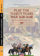 Play the Thirty Years War 1618-1648 Add-on cavalry sheet 2