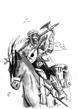 Bard, Minstrel, Horseman ( Full Page )
