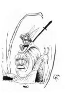 Fairy, Gnome, Slug Knight ( Full Page )