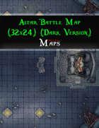 Altar Battle Map (32x24) (Dark Version)