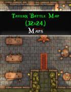Tavern Battle Map (32x24)