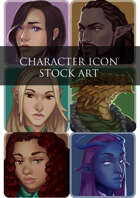 6 Assorted Character Icons