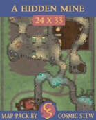 A Hidden Mine [24x33]