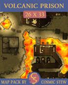 Volcanic Prison [26x33]