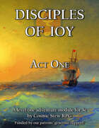 Disciples of Ioy: Act One [5e Adventure Module]