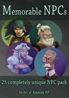 Memorable NPCs: Pack 1