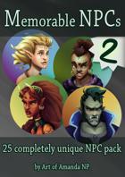 Memorable NPCs: Pack 2