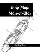 Ship Map: Man-Of-War