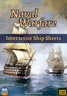 Naval Warfare: Interactive Ship Sheets