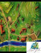 Village 1 Spring (Color)