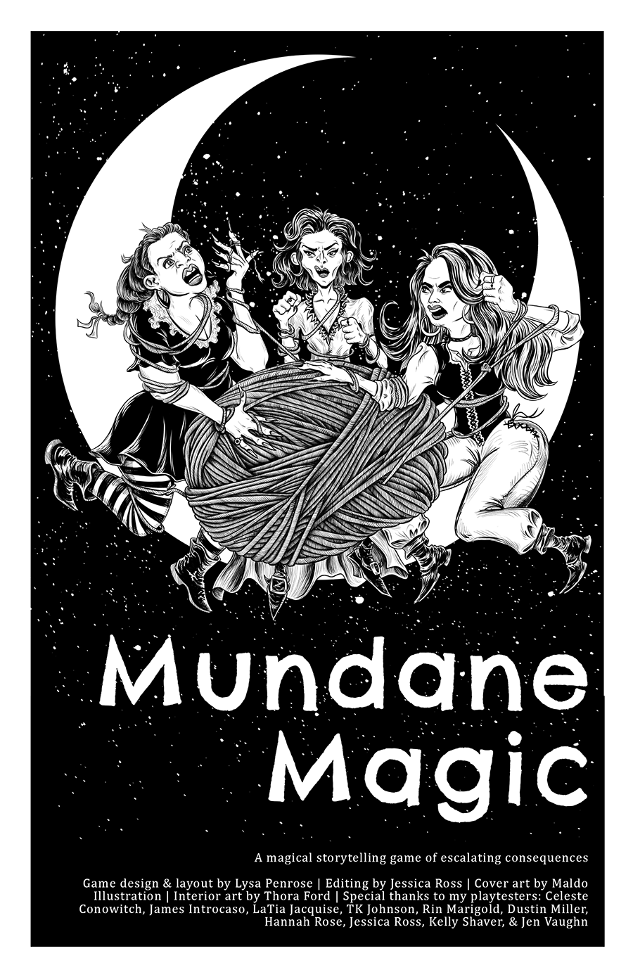 Mundane Magic RPG