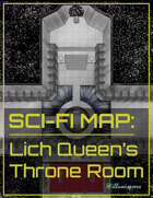 Sci-Fi Map: Lich Queen's Throne Room