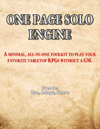 One Page Solo Engine
