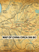 Map of China Circa 506 BC