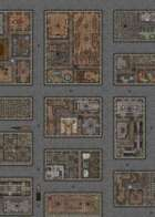 City Streets - 50x50 Map