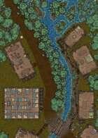 Woodland Village - 50x25 Map