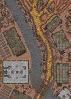 Woodland Village - 50x25 Map - Cursed Village Variant