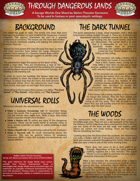 Through Dangerous Lands: A Savage Worlds Apocalyptic One Sheet Adventure