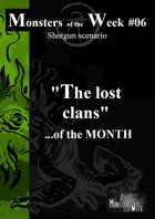[ENG] Monsters of the MONTH 02 SAMPLE - The lost clans