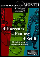 [FR] Monsters of the MONTH : 12 aventures rapides [BUNDLE]