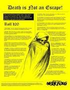 Death is Not an Escape! (Third-Party Mörk Borg Publication)