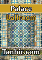 Palace Ballroom - A section of a large modular palace for fantasy VTT campaigns