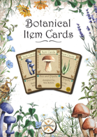 Botanical Item Cards