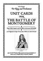 Battle of Montgomery Unit Cards