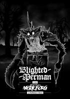Blighted Merman - A class for MÖRK BORG