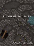 Cave of Two Paths - 5e Adventure (level 2-3)