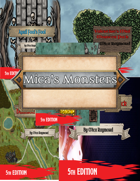 Mica's Monsters [OGL 5e] [BUNDLE]