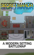 The Secret Manor Modern Battle Map