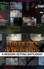 Future City Apartments Modern Battle Map