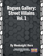 Rogues Gallery: Street-Level Villains Vol. 1