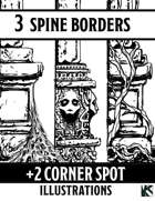 Page Borders and Corners Spot Set-1