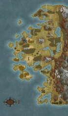 The World Of Londar, World Map