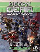 Heavy Gear Blitz! Tabletop Wargaming - 3rd Edition Rules