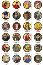 Pulp VTT Tokens - Set 1